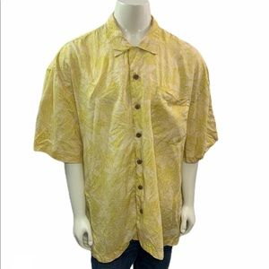 Tommy Bahama Relax Button Down Floral Linen Shirt